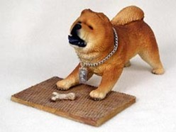 Chow My Dog Figurine