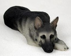 German Shepherd My Dog Figurine