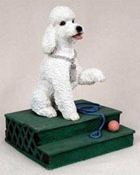 Poodle My Dog Figurine