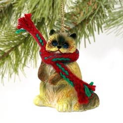 Ragdoll Cat Christmas Ornament