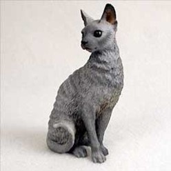 Cornish Rex Cat Figurine, the perfect gift for cat lovers