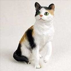 Calico Cat Figurine, the perfect gift for cat lovers