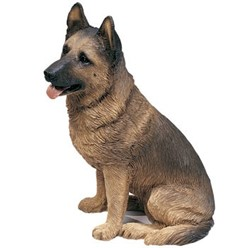 German Shepherd Sandicast Original Figurine