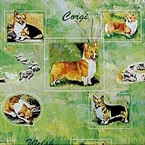 Welsh Corgi Gift Bag