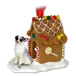 Australian Shepherd Gingerbread Christmas Ornament