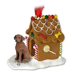 Chesapeake Bay Retriever Gingerbread Christmas Ornament