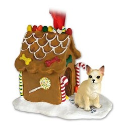 Chihuahua Gingerbread Christmas Ornament