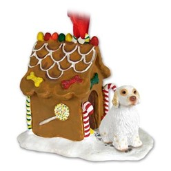 Clumber Spaniel Gingerbread Christmas Ornament