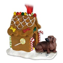 Dachshund Gingerbread Christmas Ornament
