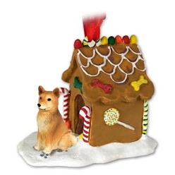 Finnish Spitz Gingerbread Christmas Ornament