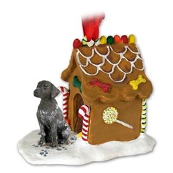 German Shorthaired Pointer Gingerbread Christmas Ornament