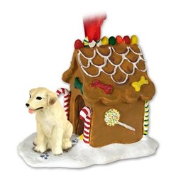 Labrador Retriever Gingerbread Christmas Ornament