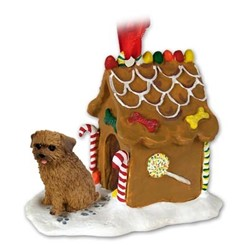 Norfolk Terrier Gingerbread Christmas Ornament