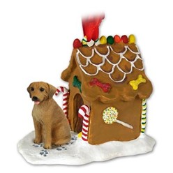 Rhodesian Ridgeback Gingerbread Christmas Ornament