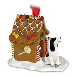 Springer Spaniel Gingerbread Christmas Ornament