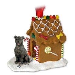 Staffordshire Bull Terrier Gingerbread Christmas Ornament