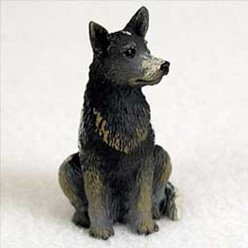 Australian Cattle Dog Tiny One Dog Figurine