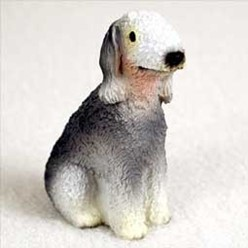 Bedlington Terrier Tiny One Dog Figurine