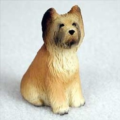 Briard Tiny One Dog Figurine