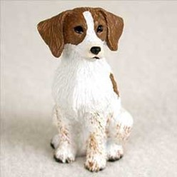 Brittany Tiny One Dog Figurine