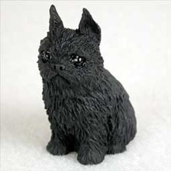 Brussels Griffon Tiny One Dog Figurine