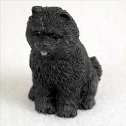 Chow Tiny One Dog Figurine