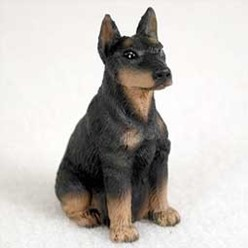 Doberman Tiny One Figurine