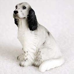 English Setter Tiny One Figurine