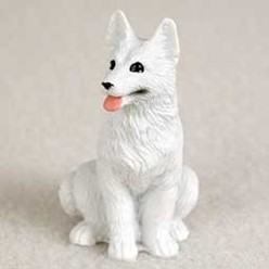 German Shepherd Tiny One Dog Figurine