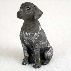 German Shorthaired Pointer Tiny One Dog Figurine