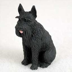 Giant Schnauzer Tiny One Dog Figurine- click for more breed options