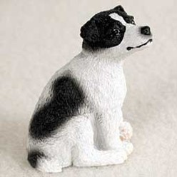 Jack Russell Tiny One Dog Figurine