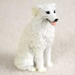 Kuvasz Tiny One Dog Figurine