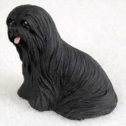 Lhasa Apso Tiny One Dog Figurine