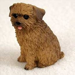 Norfolk Terrier Tiny One Dog Figurine