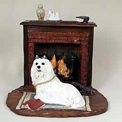 Maltese Special Edition My Dog Figurine