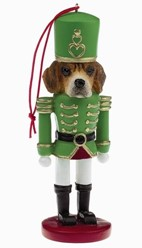 Beagle Nutcracker Dog Christmas Ornament
