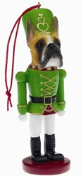Boxer Fawn Nutcracker Dog Christmas Ornament