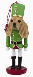 Cocker Spaniel Nutcracker Dog Christmas Ornament