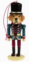 Golden Retriever Nutcracker Dog Christmas Ornament