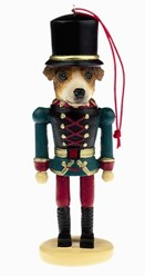 Jack Russell Nutcracker Dog Christmas Ornament