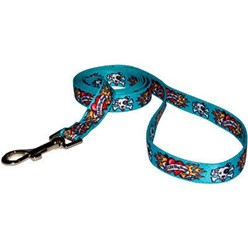 Luv My Dog Blue Leash, Made in the USA