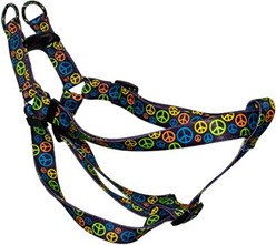 Neon Peace Signs Step-In Harness
