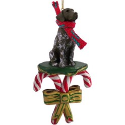 Candy Cane German Shorthaired Pointer Christmas Ornament