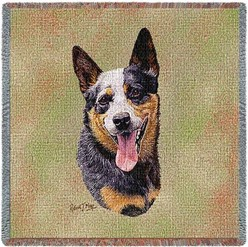 Australian Cattle Dog Throw