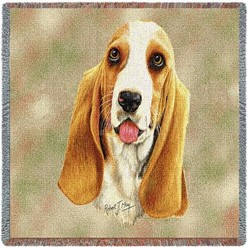 Basset Hound Throw