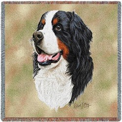 Bernese Mountain Dog Throw