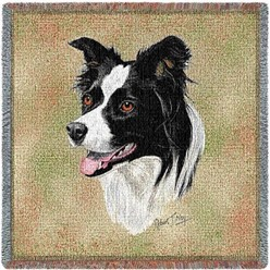 Border Collie Throw