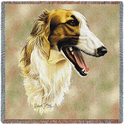 Borzoi Throw