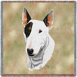 Bull Terrier Throw